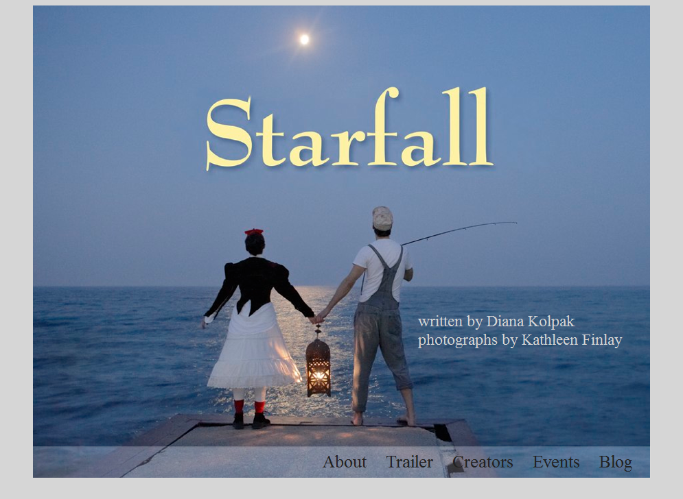 Starfall Website: Main page