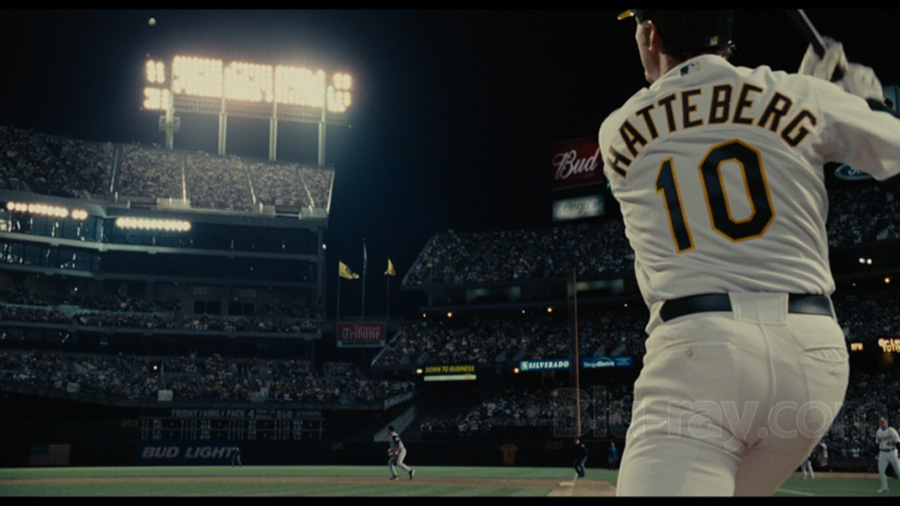 Hatteberg is a player whose value is perceivable in a Moneyball experiment