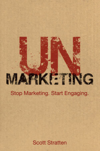 UnMarketing Book Cover