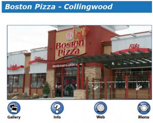 Boston Pizza on MyCollingwood.ca