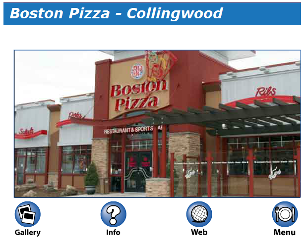 Boston Pizza on MyCollingwood.ca