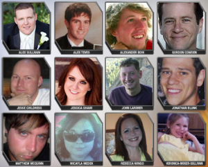 Victims of the Aurora Shooting
