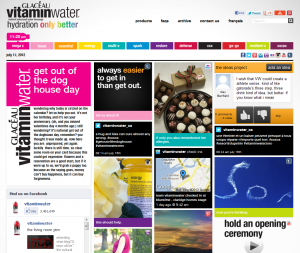 vitaminwater website