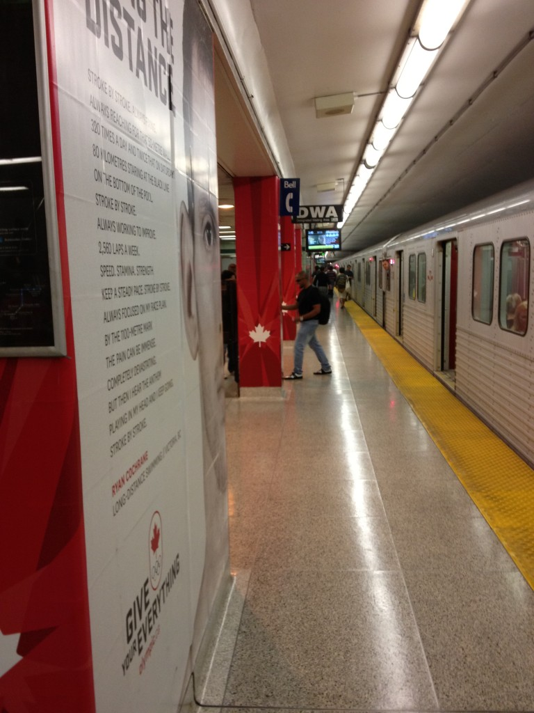 Long View of St. George Subway Station