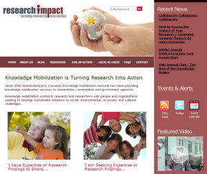 Research Impact, a leading Canadian knowledge mobilization unit