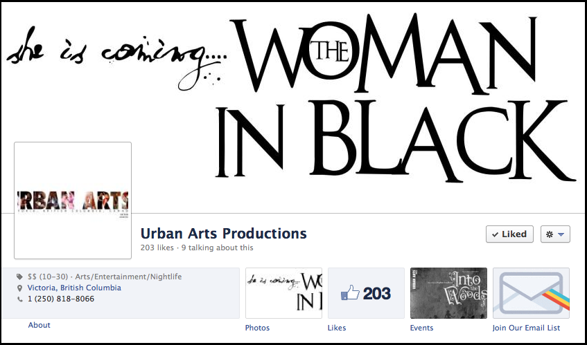 Urban Arts on Facebook