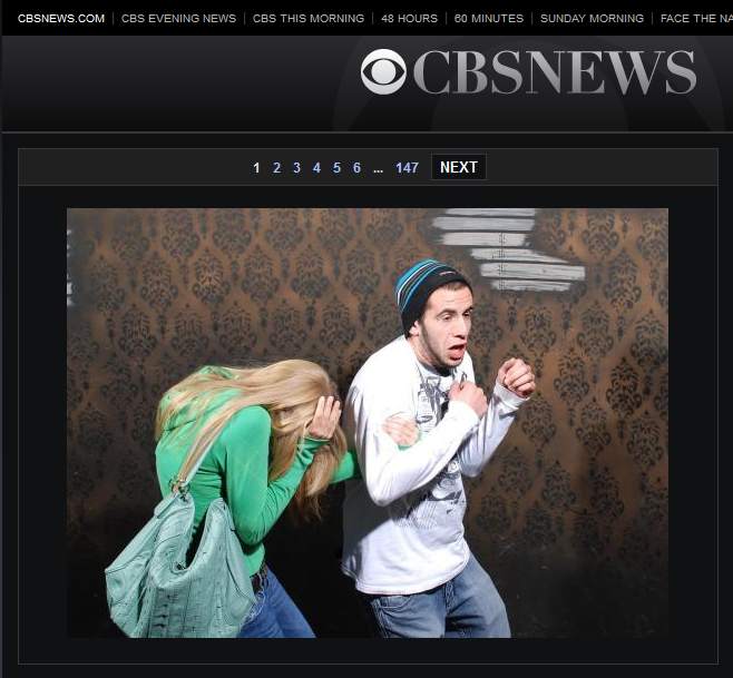 CBS News Feature of Nightmares Fear Factory Content
