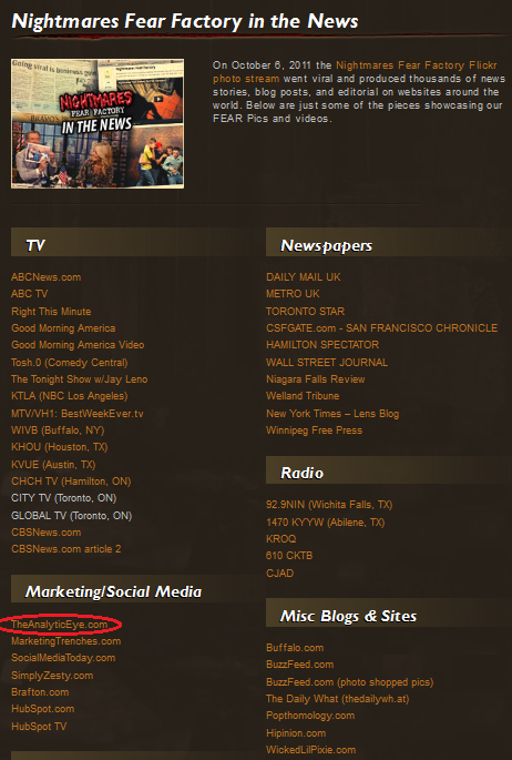Nightmares Fear Factory media listing